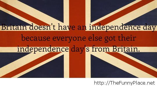 British flag independence