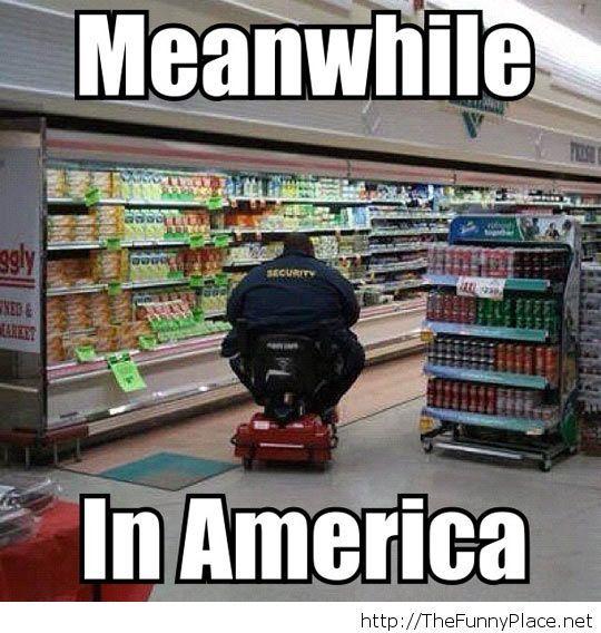 Comic security in America