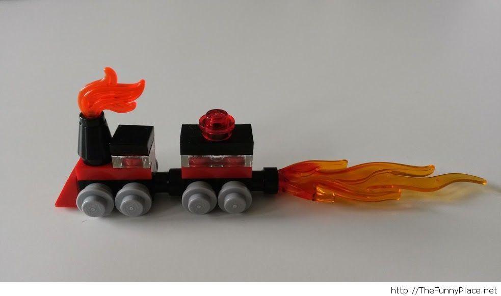 Cool lego train
