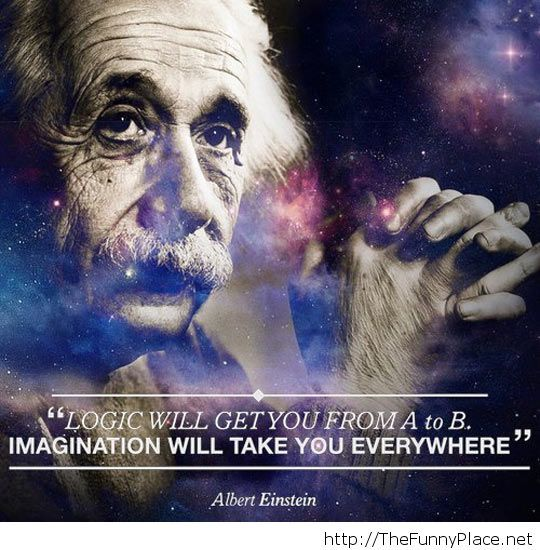 Einstein logic quote