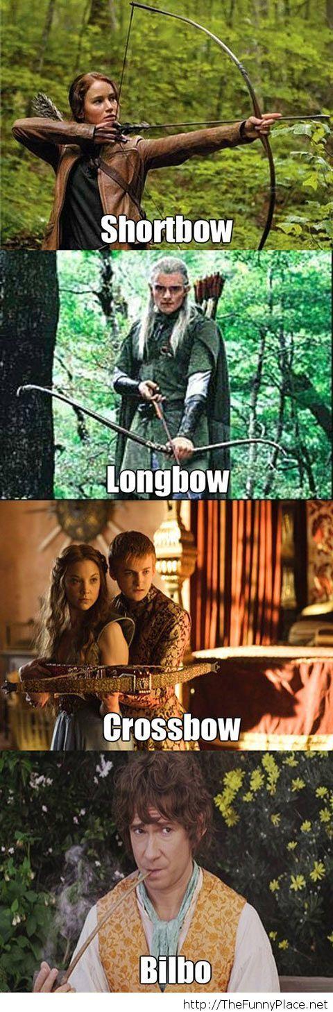 Funny bow joke