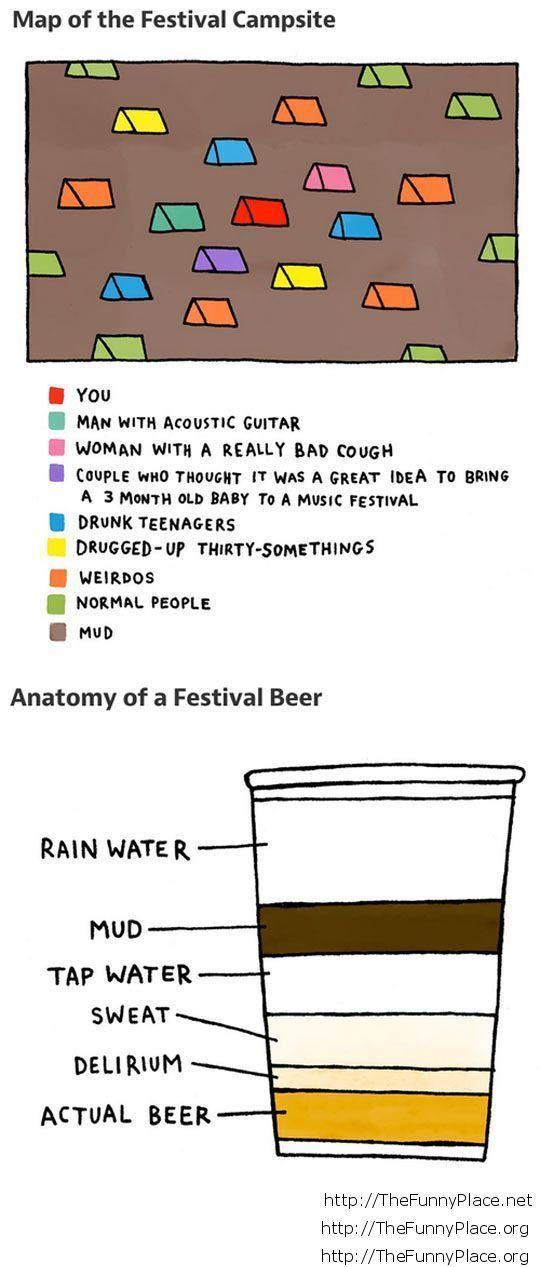 Funny festival beer