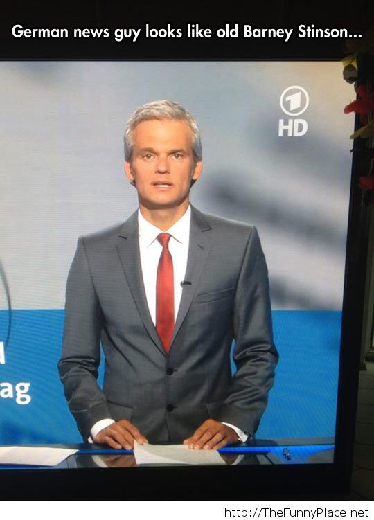 German Barney Stinson