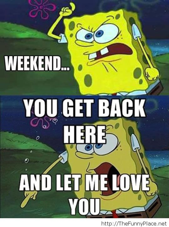 How I feel Monday