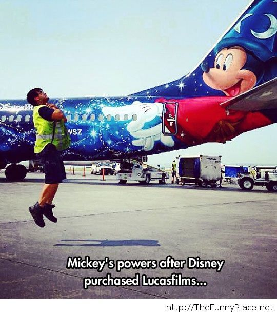 Mickey Joined The Dark Side Now