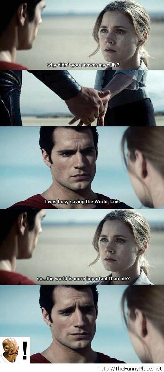 Superman funny trap