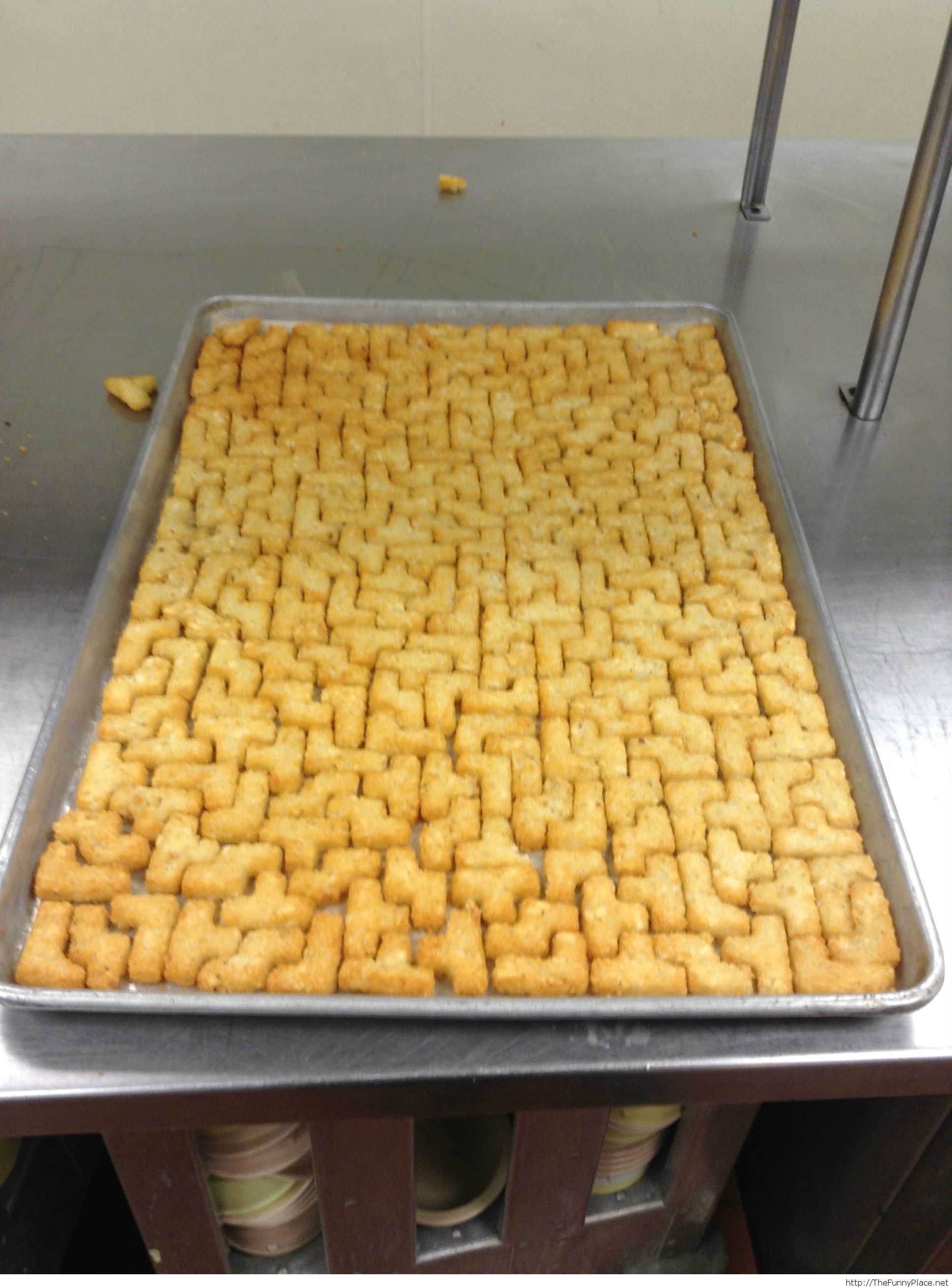 Tater tots puzzle