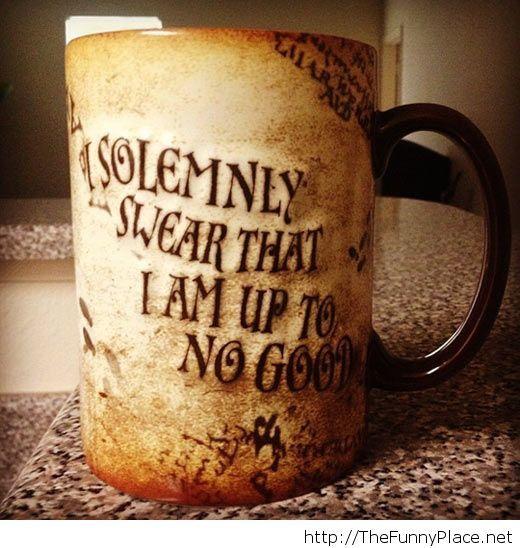 Vintage mug quote