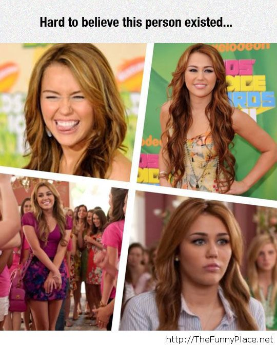 Where have you gone, Miley