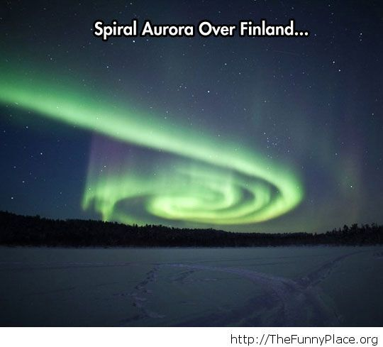 Awesome Aurora in Finland