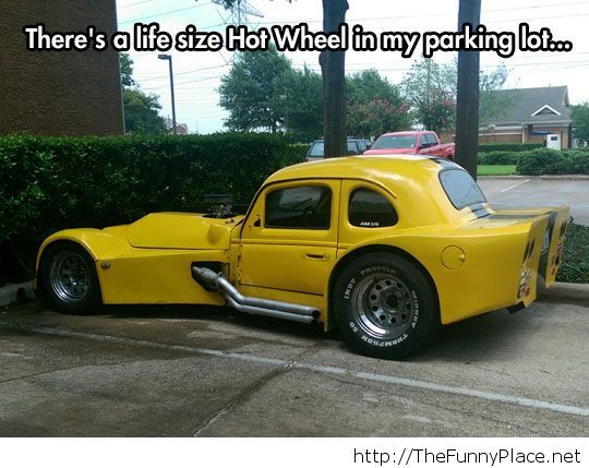 Awesome real Hot Wheel
