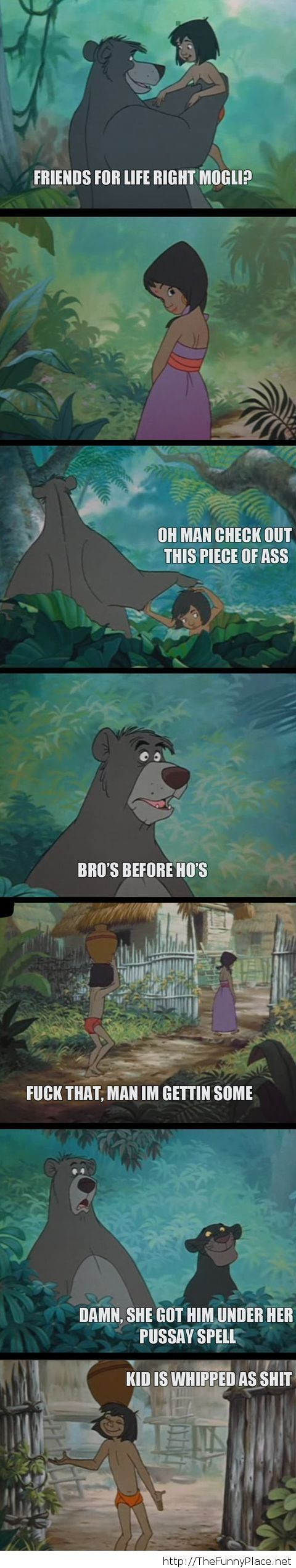 Bro's before girls