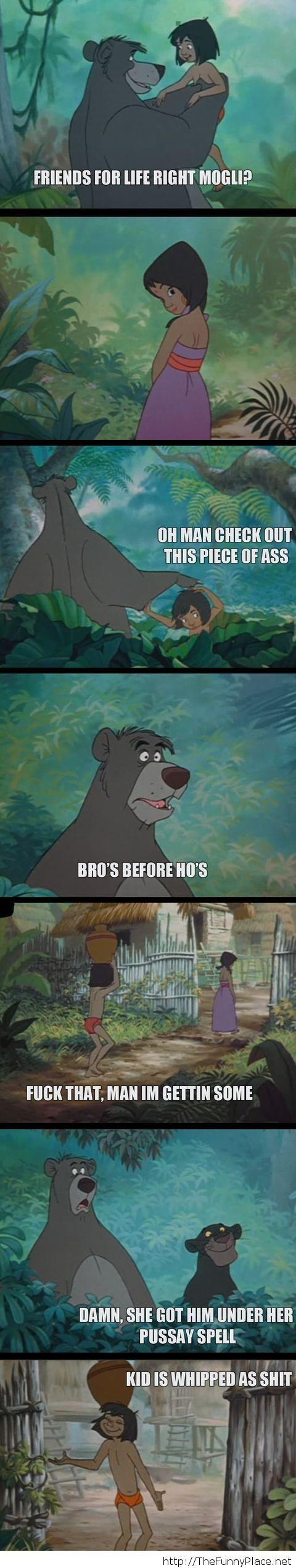Bro's before girls