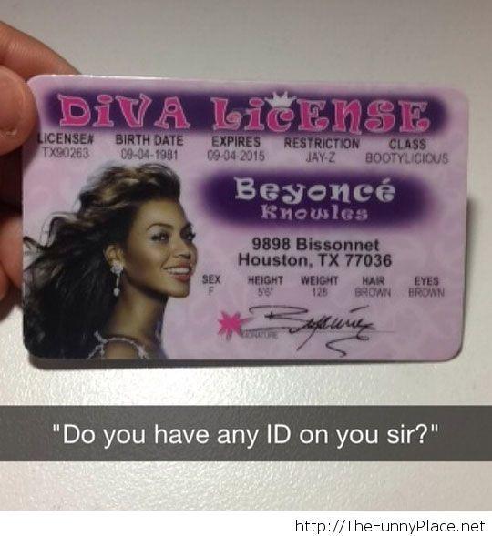 Diva License Message