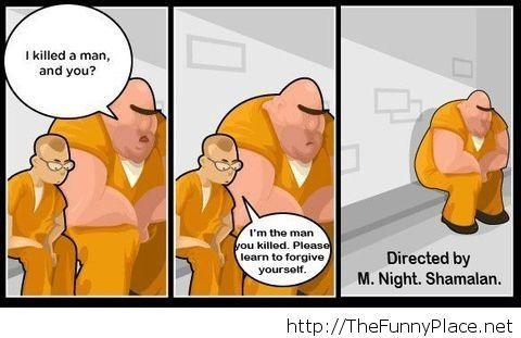 Funny M. Night comic