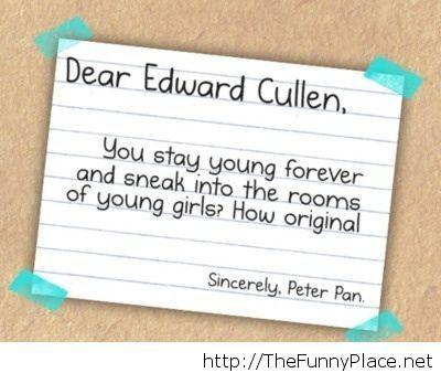 Funny Twilight saying