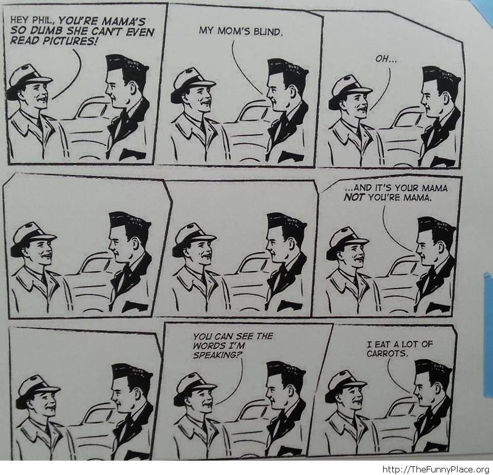 Funny old comic