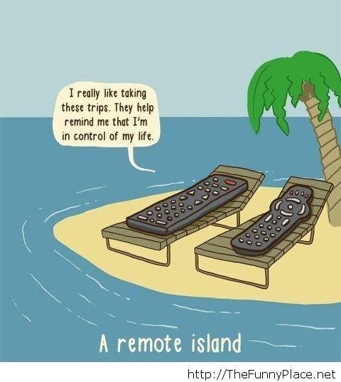 Funny remote pun