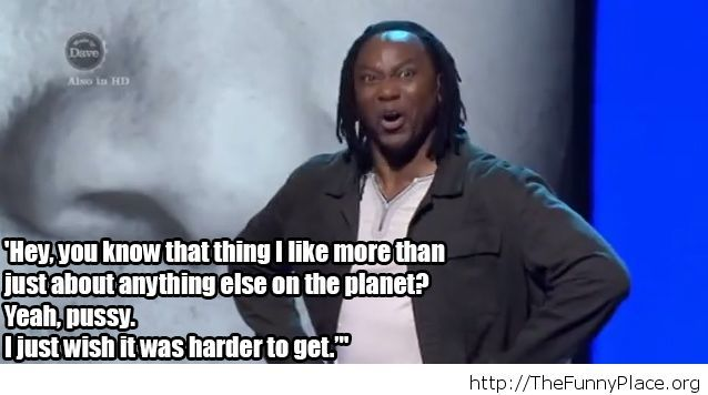 Funny stand up quote