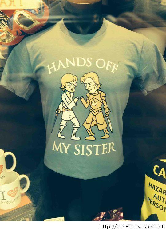 Funny t-shirt sister