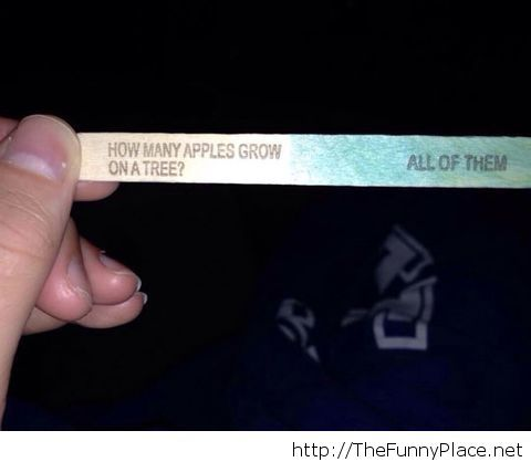 Good one, popsicle
