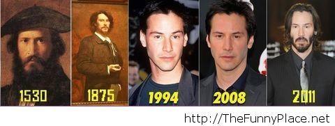 I am convinced he is immortal