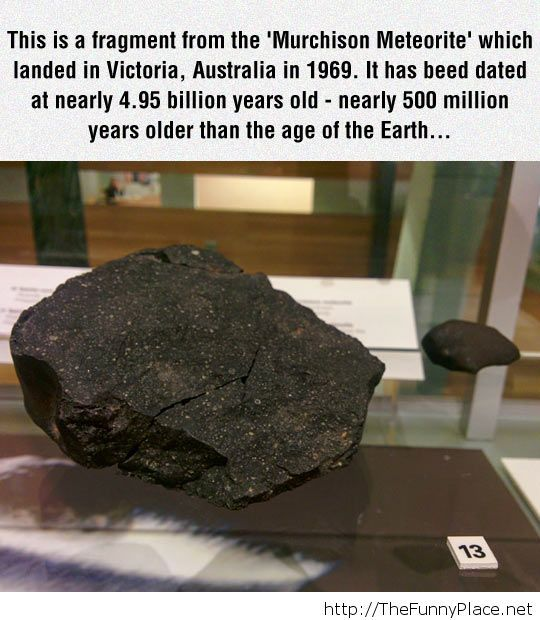 It's older than Earth