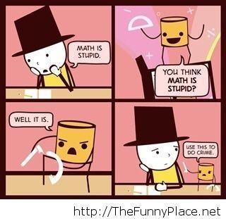 Math funny comic
