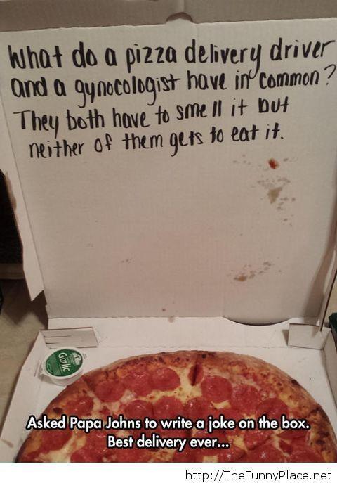 Pizza box joke