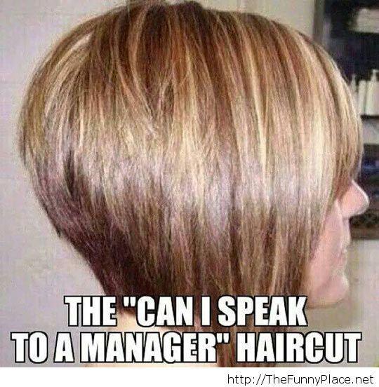 Such an evil haircut
