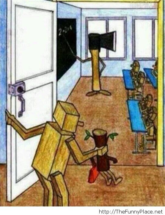 True school comic