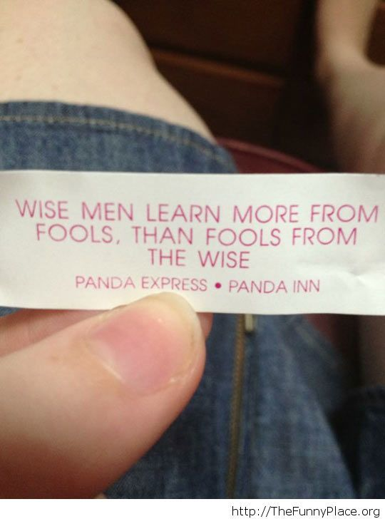 Wise man quote