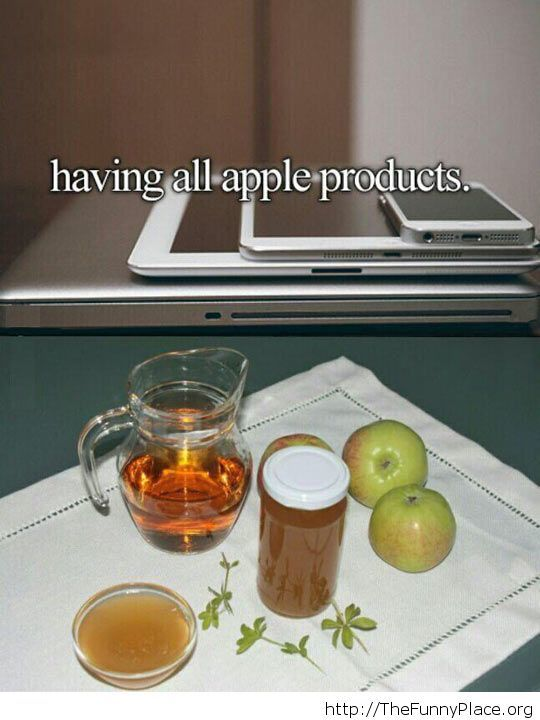 All the Apple products