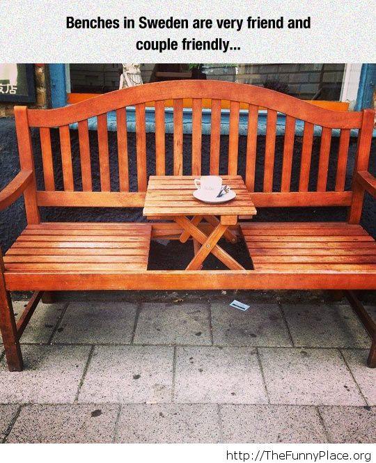 An awseome bench