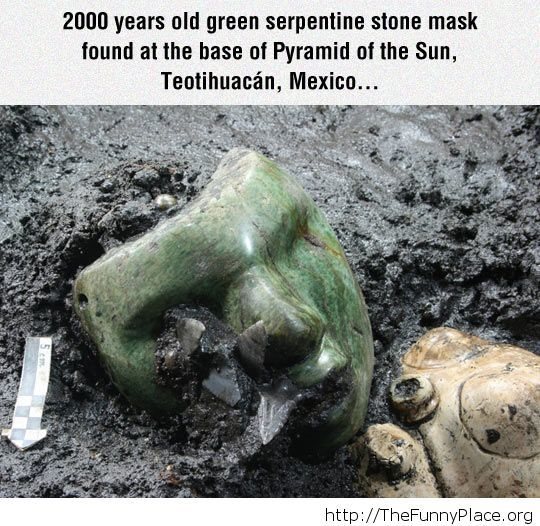 Ancient Stone Mask