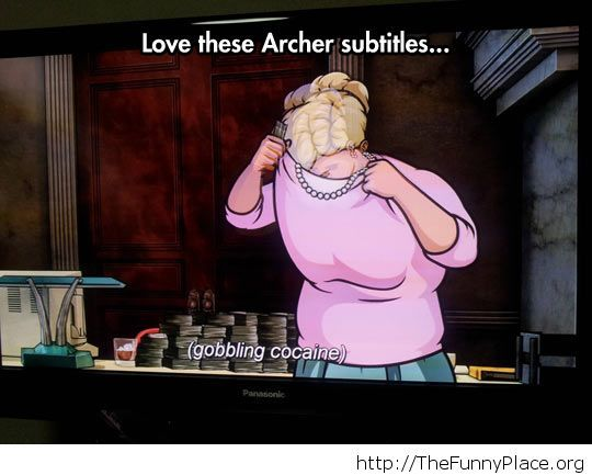 Archer subtitles