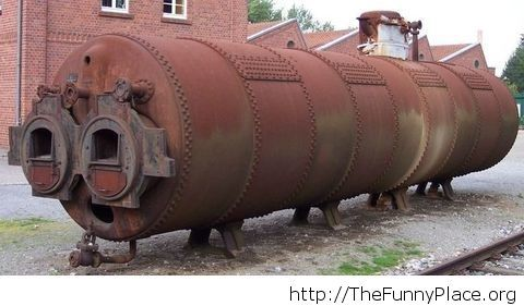 Awesome Grandma Caterpillar Putting on Lipstick
