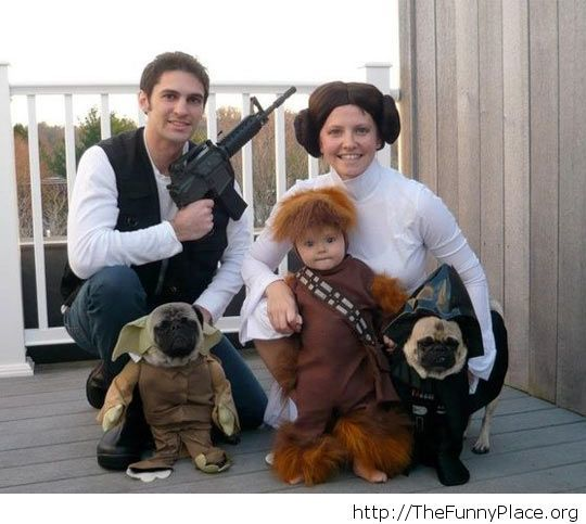 Costumes for the entire family Funny