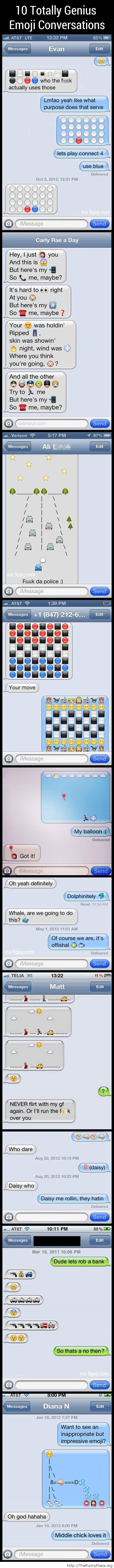 Emoji moticons story