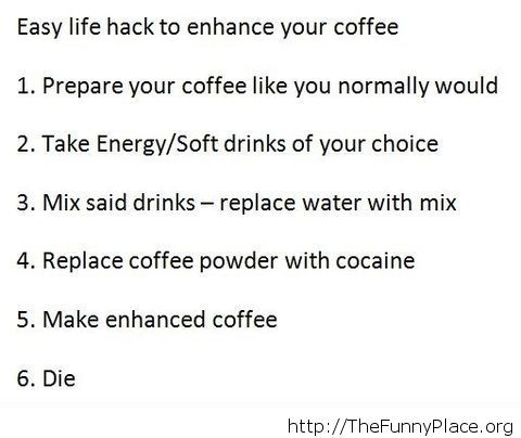 Enhancing your coffee