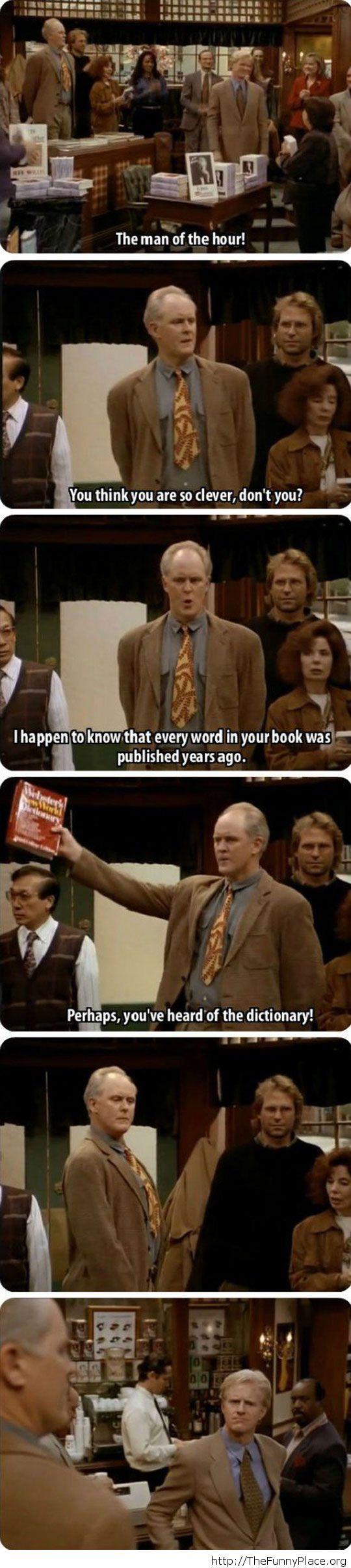 Funny book line