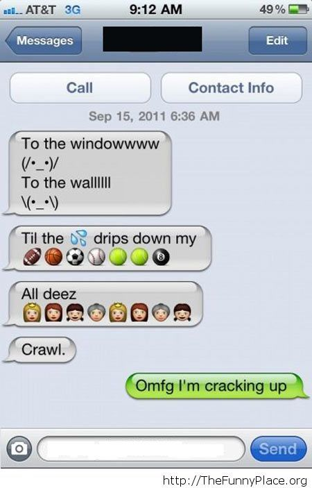 Funny song conversation