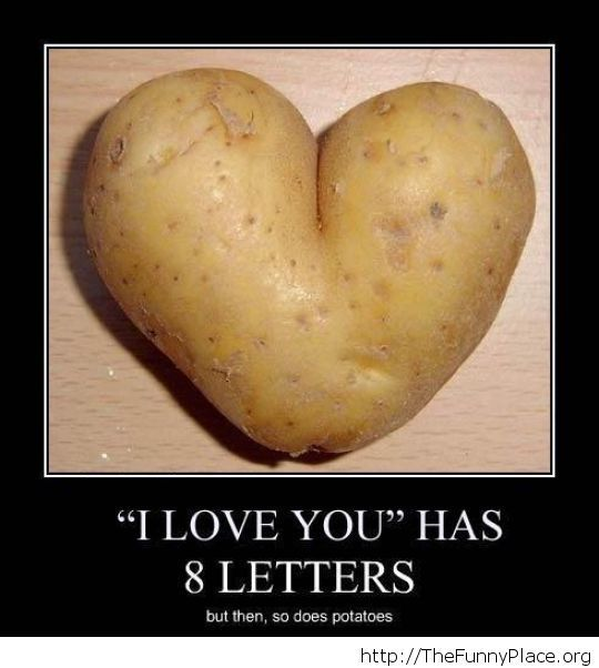 I love you romantic message