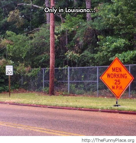Louisiana And Its Speed Rules