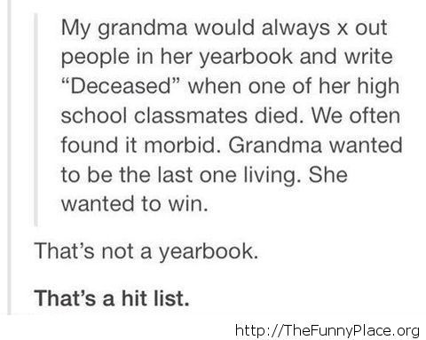 Not a yearbook