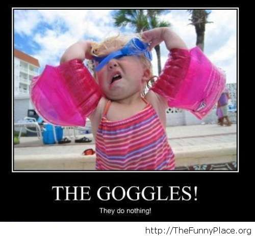 The goggles, funny moment