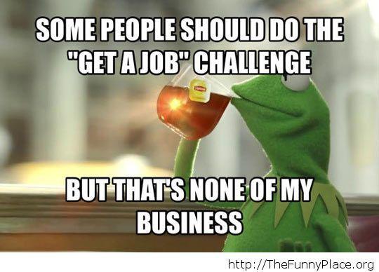 A challenge that should exist