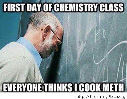 As a chemistry teacher