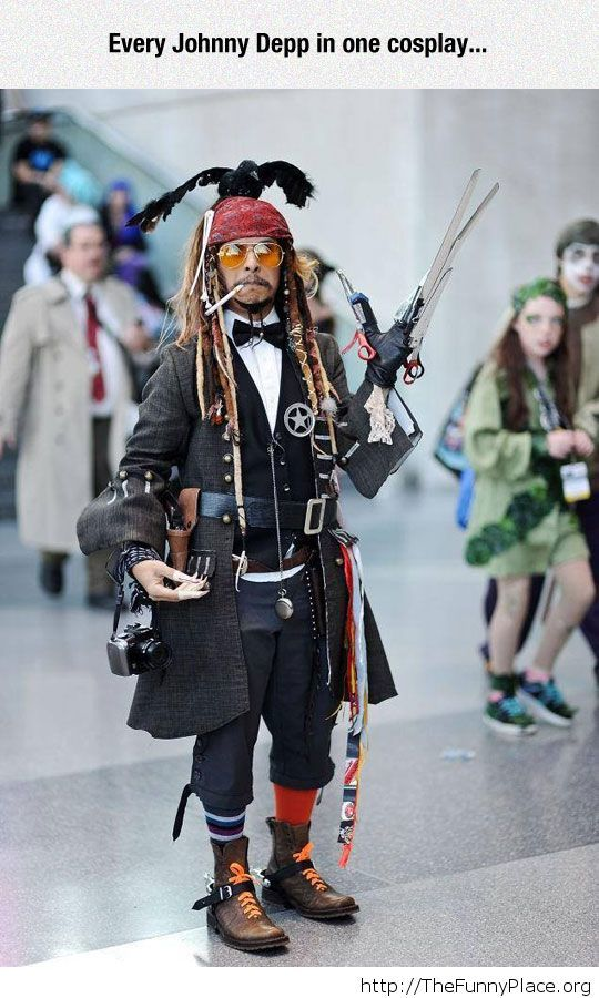Awesome Johnny Depp cosplay