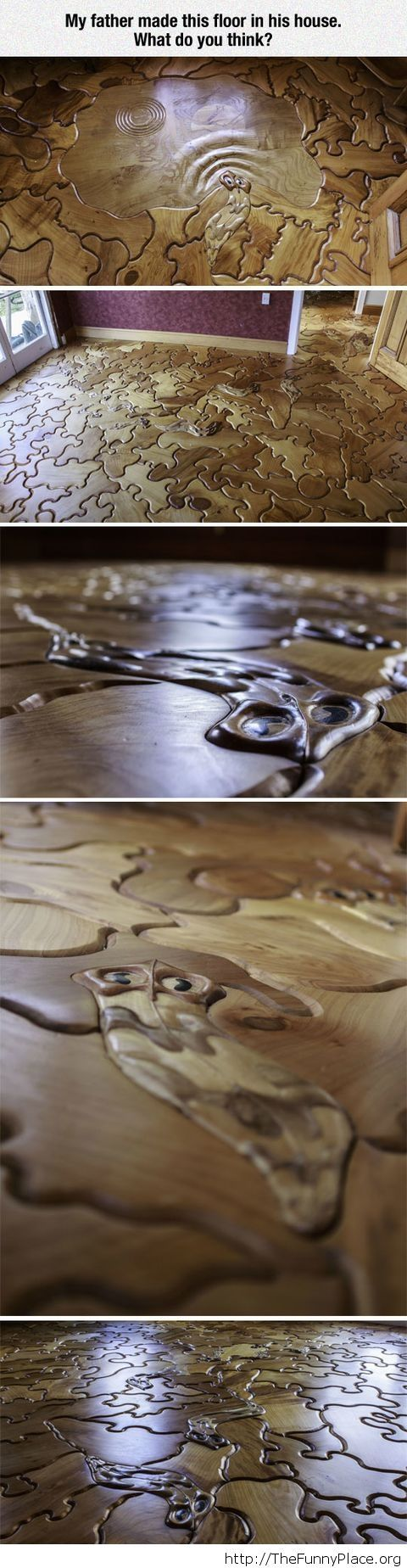 Awesome floor puzzle
